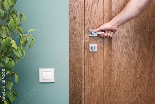 Open the door Canvas-taulu