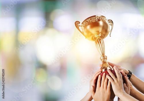 Staande foto Hoogte schaal Award.