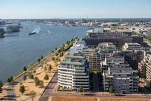 Aerial View Apartment Building...