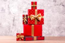 Christmas Preparation Concept....