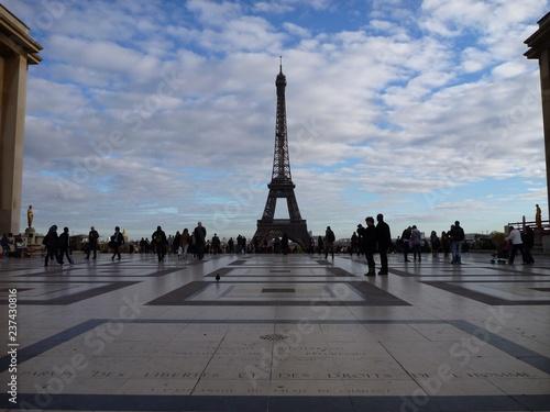 Printed kitchen splashbacks Eiffel Tower La Tour Eiffel, Paris, France (2)