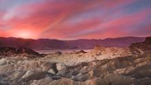 Desert Sunrise In Death Valley...
