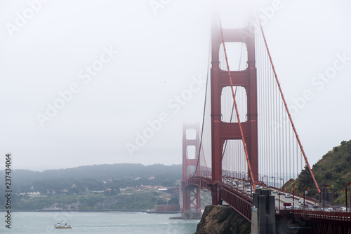Photo  the Golden Gate Bridge