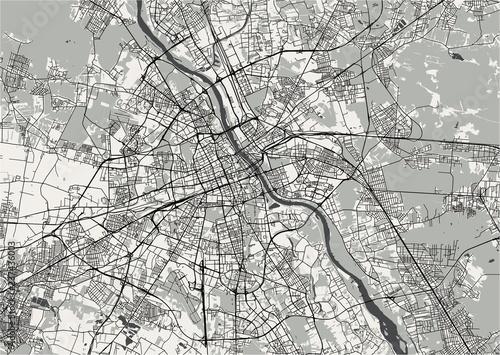 mapa-miasta-warszawy-polska
