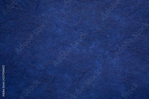 Fototapety, obrazy: dark blue textured mulberry paper