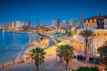 Tel Aviv Skyline. Cityscape Im...