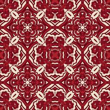 Red Damask Seamless Tiled Moti...
