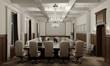 conference room, meeting room, interior visualization, 3D illustration