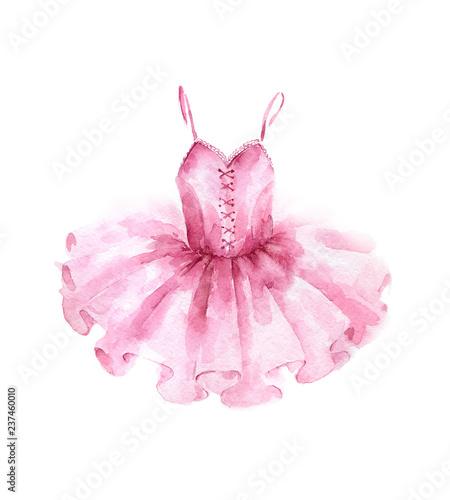 Obraz na plátně Pink ballet dress