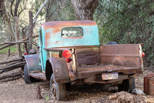 Old Rusty Pickup Truck