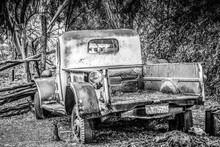 Old Rusty Pickup Truck