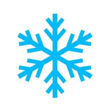 Snowflake Simple Vector Icon