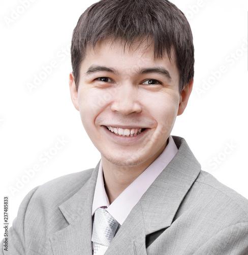 Fotografie, Obraz  closeup.the face of the modern young man