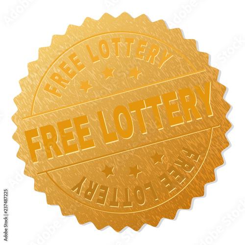 Foto  FREE LOTTERY gold stamp reward