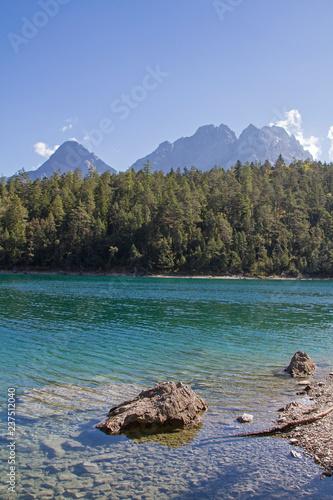 Blindsee mit Mieminger Gebirge