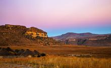 Golden Gate Highlands National Park In South Africa.