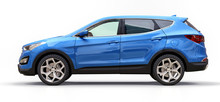 Compact City Crossover Blue Co...