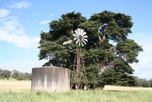 Windmill In Victoria, Australia