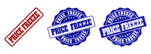 PRICE FREEZE Grunge Stamp Seal...
