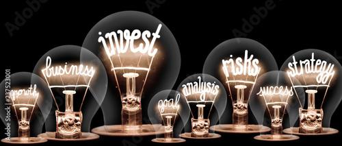 Fototapeta Light Bulbs Concept obraz