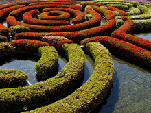 Getty Museum Labyrinth Garden