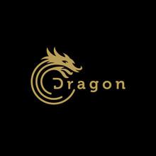 Dragon Logo Design Vector Temp...