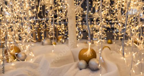 Fototapeta décoration de Noël obraz
