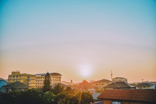 Apartment Dormitory Architecture Building Sky Sunlight Morning