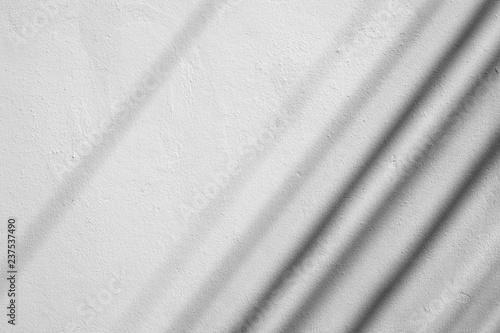 Foto op Plexiglas Historisch geb. shadow on white wall pattern