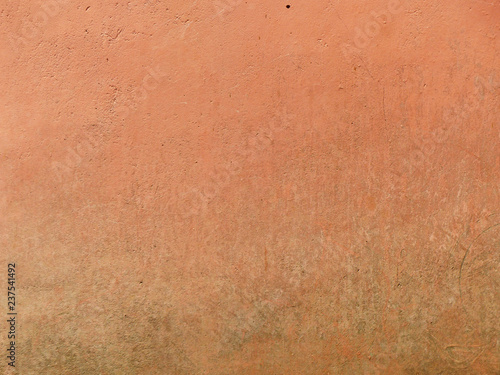 Fotografering  old brown wall background
