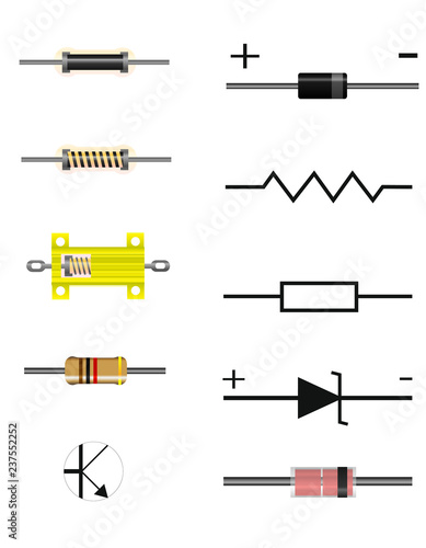 Photo Electrical components