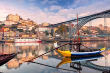 Porto, Portugal. Cityscape Ima...