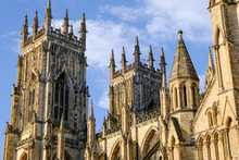 Looking Up At York Minster