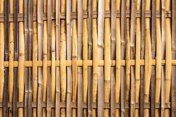 bamboo house wall