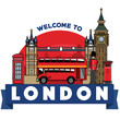 united kingdom icon city