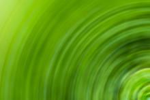 Abstract Green Background Part Circle Effect Blur Speed Texture Flora Pattern