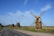 Windmühlen auf Öland in Schweden
