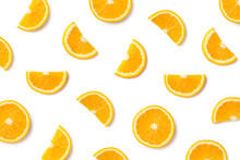 Fruit Pattern Of Orange Slices