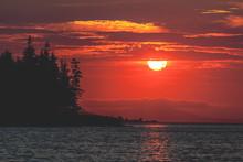 Sunset Over Penobscot Bay In M...