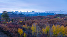 The American Rocky Mountains Of Colorado Are A Beautiful Site When The Aspens Turn Yellow In Autumn And The First Snow Falls Bring In The Threat Of Winter
