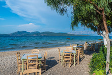 Taverna With Table And Chairs ...