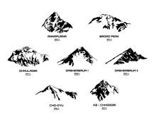 Set Of Mountains - Eight Thous...