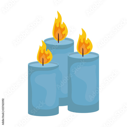 Valokuvatapetti candles church isolated icons