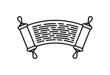 Parchment Of Jewish Law