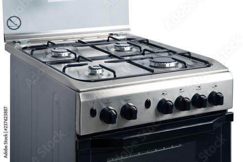 Fotografija Gas stove on a white background