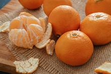 Bright Orange Tangerines (clem...