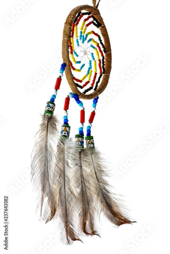 Fotografie, Obraz  Dreamcatcher Native American Spiritual Symbol