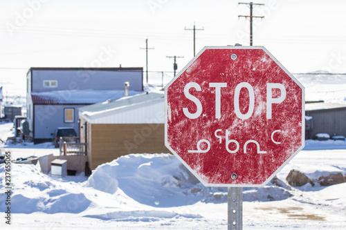 Fotografie, Obraz  stop sign