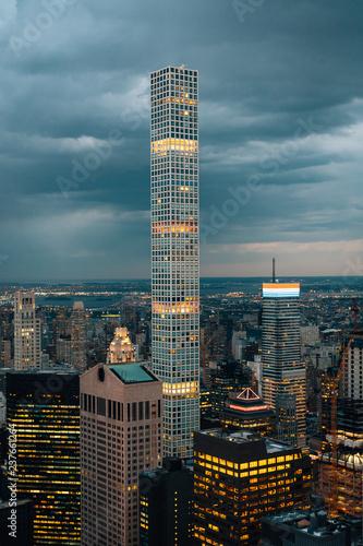 Deurstickers New York City View of buildings in Midtown Manhattan, New York City