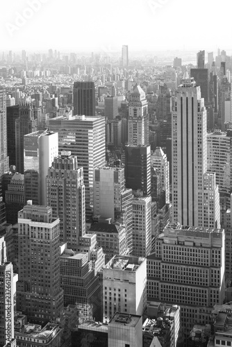 Poster New York City View of buildings in Midtown Manhattan, New York City
